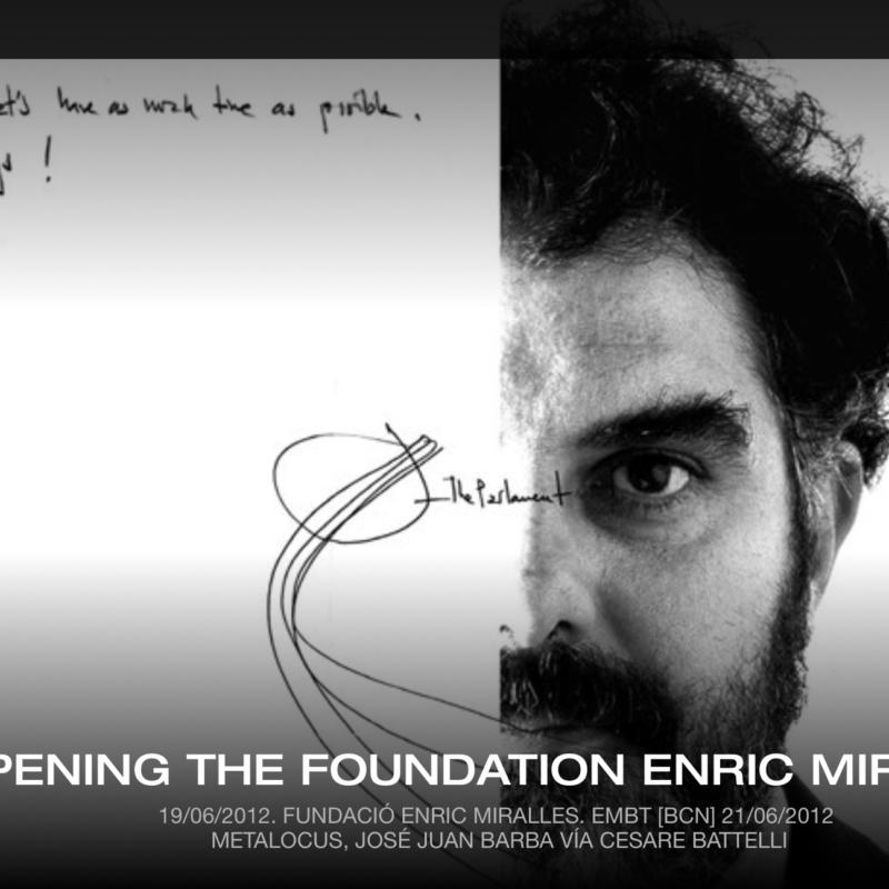 Fundación Enric Miralles