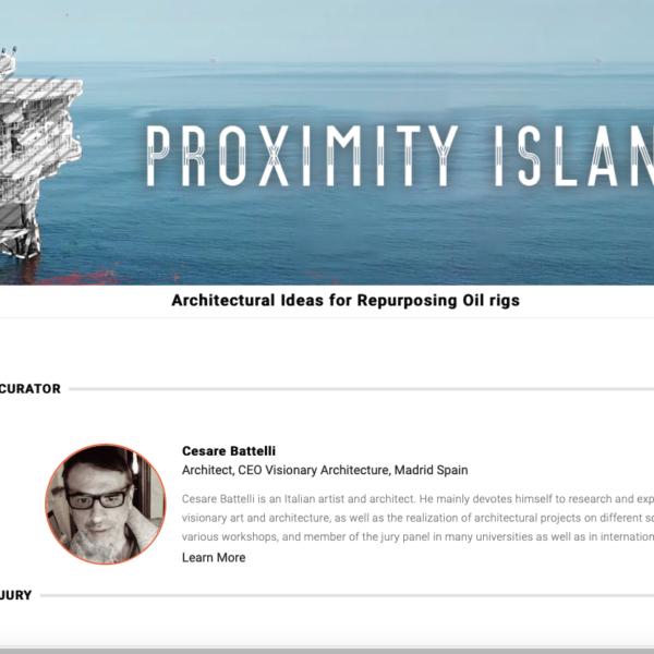 proxymity island Cesare Battelli Curator